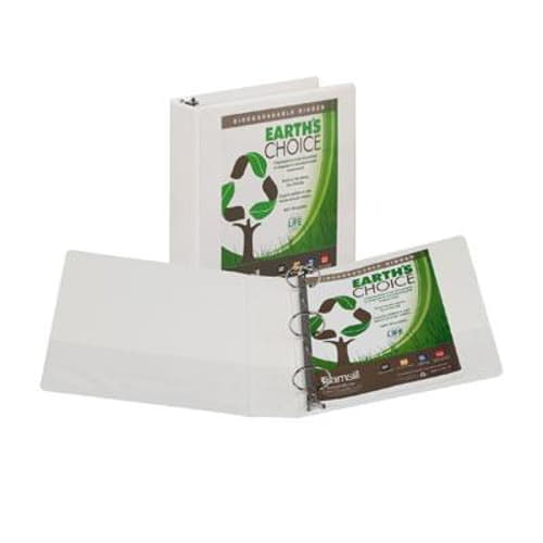 "EarthsChoice View Binder W 2"" 4pk"