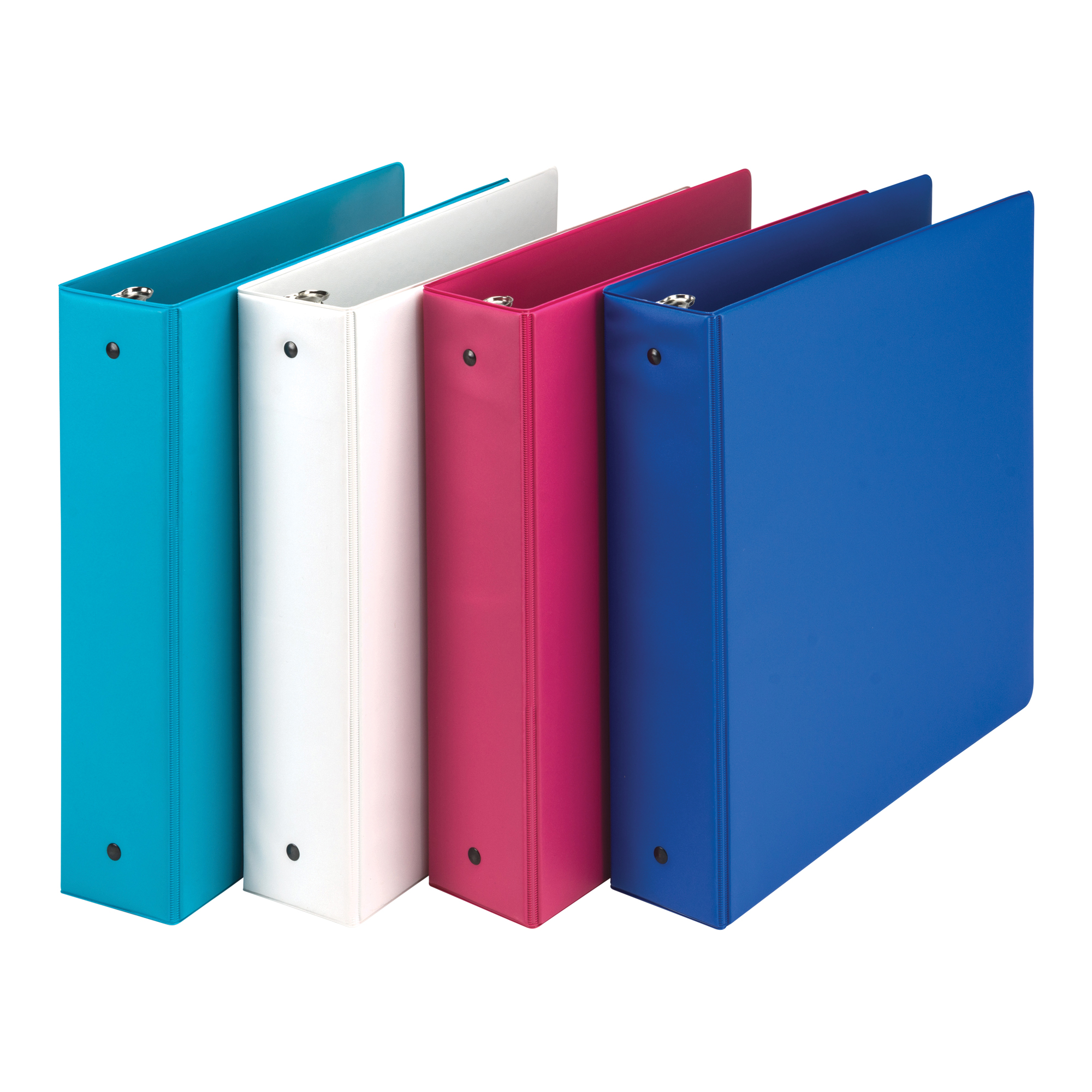 "2"" Fashion Assorted Binder 4pk"