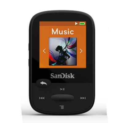 Clip Sport 8GB MP3 Player Black