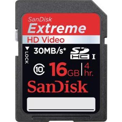 16GB Extreme SDHC UHS I