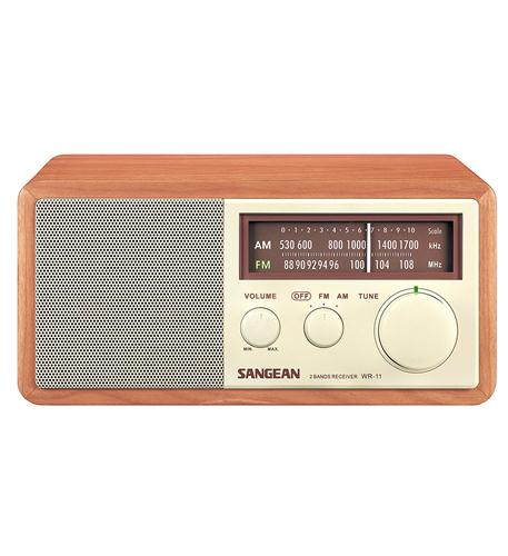 Wood Table Top Radio