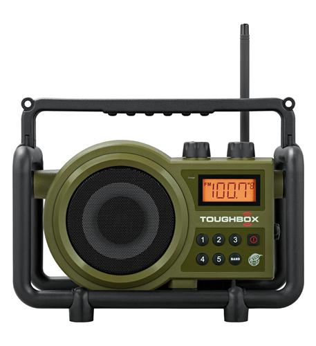 Toughbox Rugged Digital Radio Rechargabl