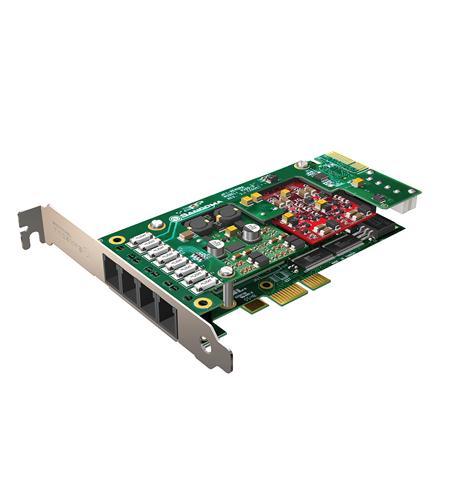 Sangoma A200 PCIe Base Analog Card EC/HW