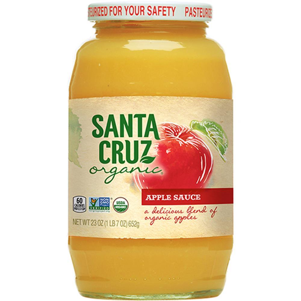 Santa Cruz Organic - Apple Sauce ( 12 - 23 OZ)