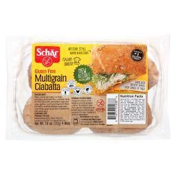 Multigrain Ciabatta Rolls Gluten Free ( 6 - 7 OZ )