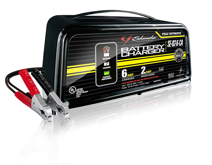 6 AMP AUTO CHARGER