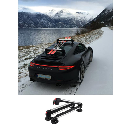 SeaSucker Ski Rack Locking carrier for skis and snow boards