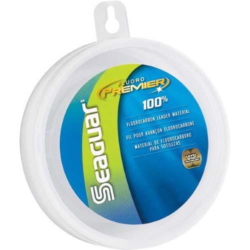 Seaguar Fluoro Premier 100% Fluorocarbon Leader 25 yds 20 lb