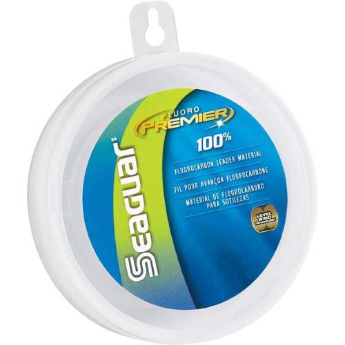Seaguar Fluoro Premier 100% Fluorocarbon Leader 25 yds 40 lb