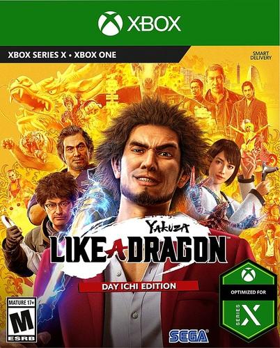 Yakuza Like A Dragon XB1