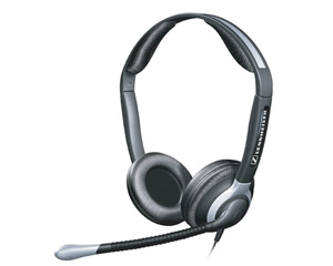 Binaural Headset w XL Ear Cap