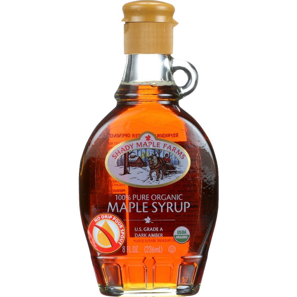 Shady Maple Farms - Grade A Dark  Maple Syrup ( 3 - 8.0 FZ)
