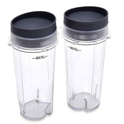 Nutri Ninja Cups w Lids 2 24oz