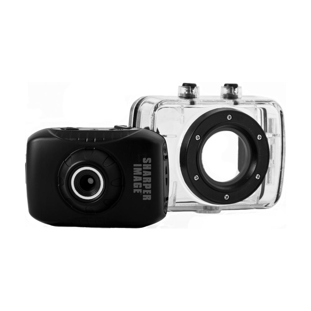 Sharper Image HD Action Camera with Waterproof Case
