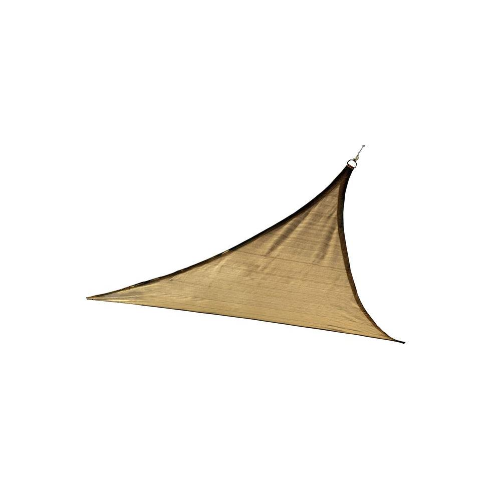 Triangle ShadeSail, 12 ft./3,7 m - Sand