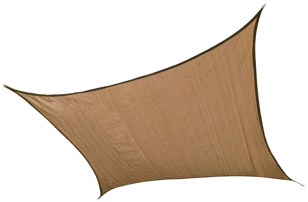 Square ShadeSail, 12 ft./3,7 m - Sand