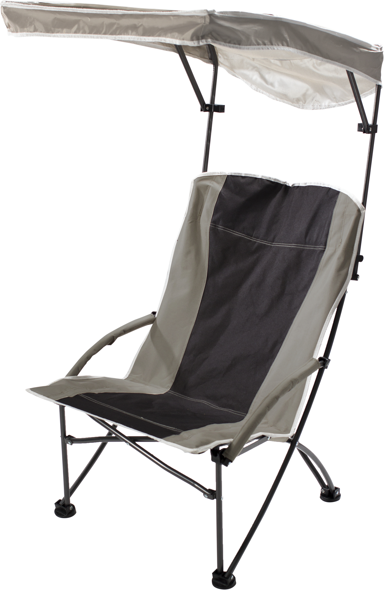Pro Comfort High Shade Chair,Tan Fabric,Graphite Frame