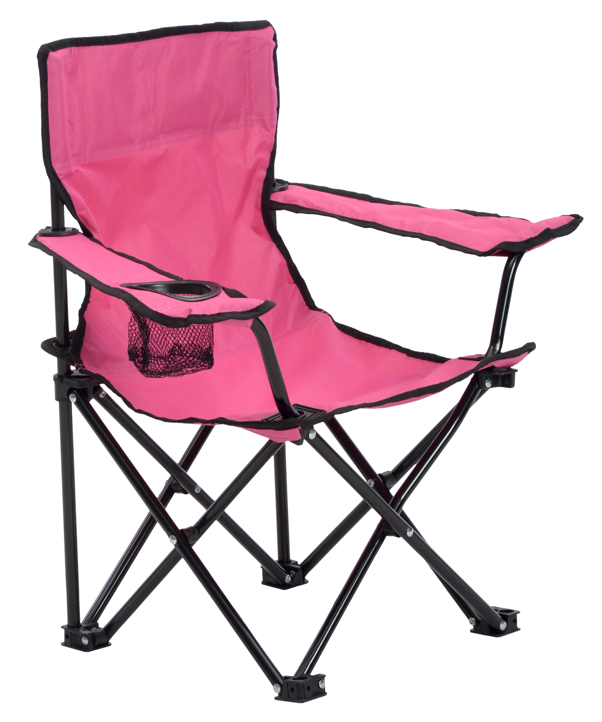 KIDS CHAIR PINK/BLACK
