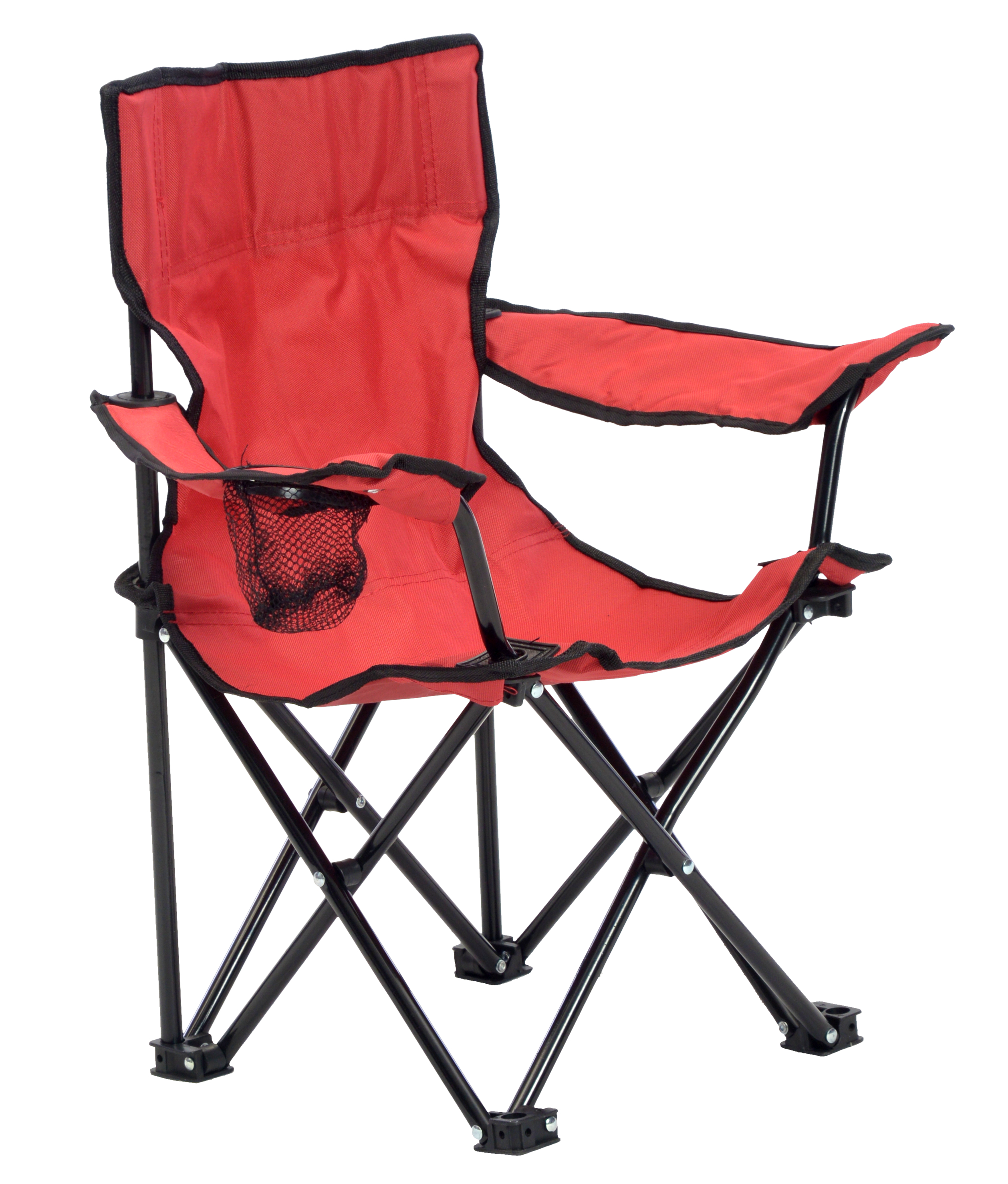 KIDS CHAIR RED/BLACK