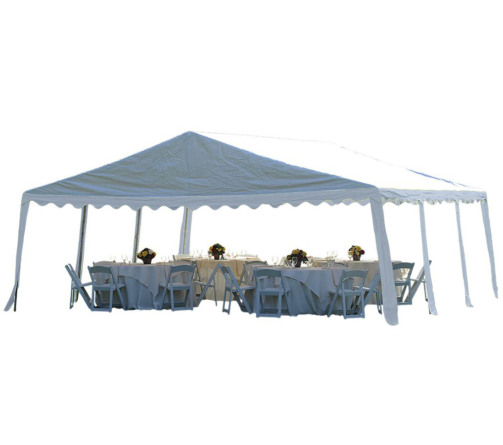 20 39 X20 39 6x6m Party Tent 8 Leg Galvanized Steel Frame