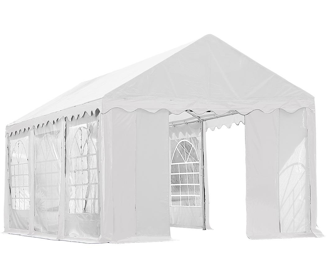 10'x20'/ 3x6m Party Tent White Enclosure Kit with Windows