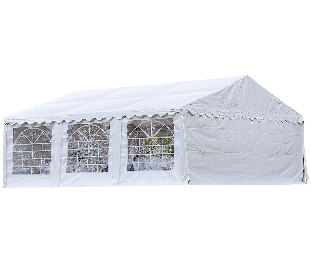 20'x20'/ 6x6m Party Tent White Enclosure Kit with Windows