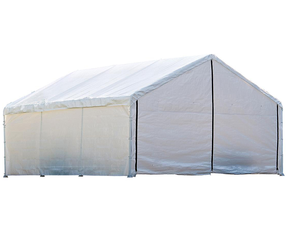 18+30 White Canopy Enclosure Kit; FR Rated