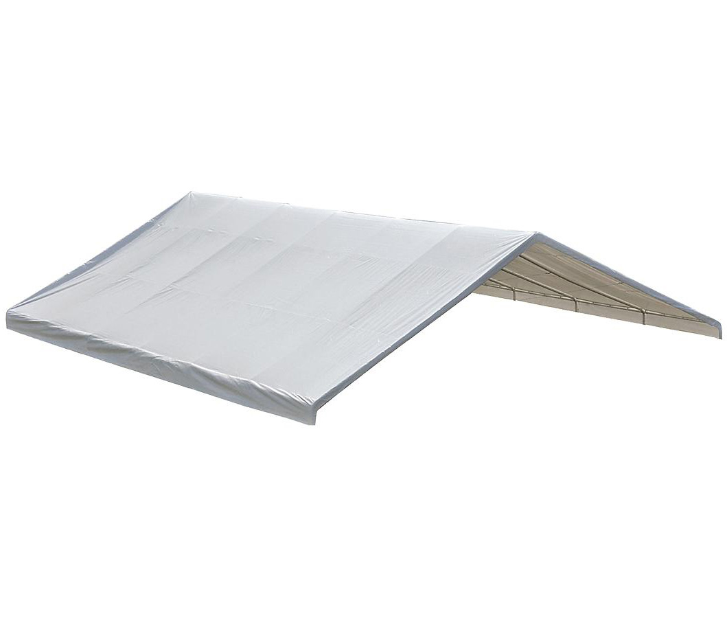 "30x40 Canopy White Replacement Cover for 2-3/8"" Frame; FR Rated"