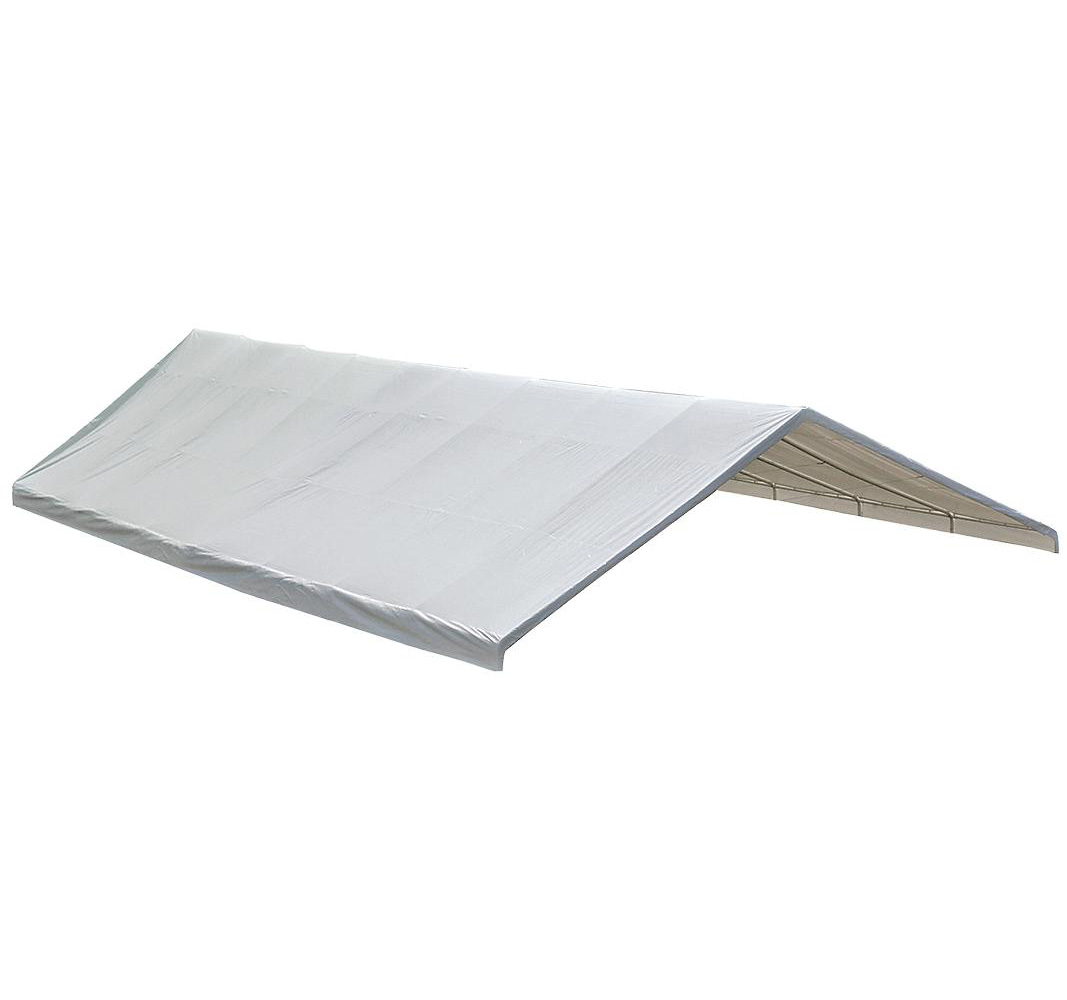 "30x50 Canopy White Replacement Cover for 2-3/8"" Frame; FR Rated"