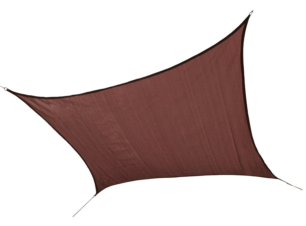 12 ft. / 3,7 m Square Shade Sail - Terracotta 230 gsm