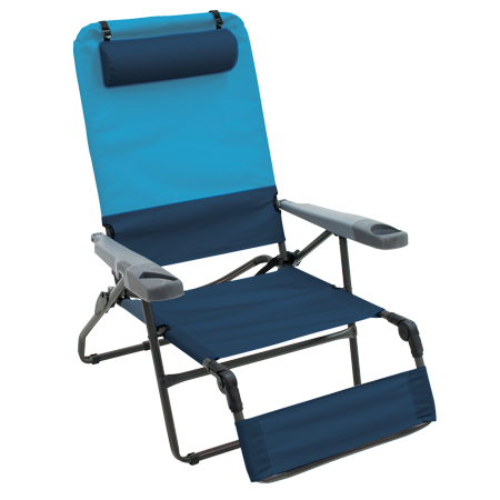 4 POSITION OTTOMAN LOUNGER    BLUESKY/NAVY