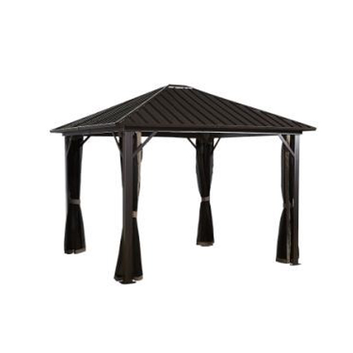 MERIDIEN #77 Gazebo 10'x12' PC 8mm roof