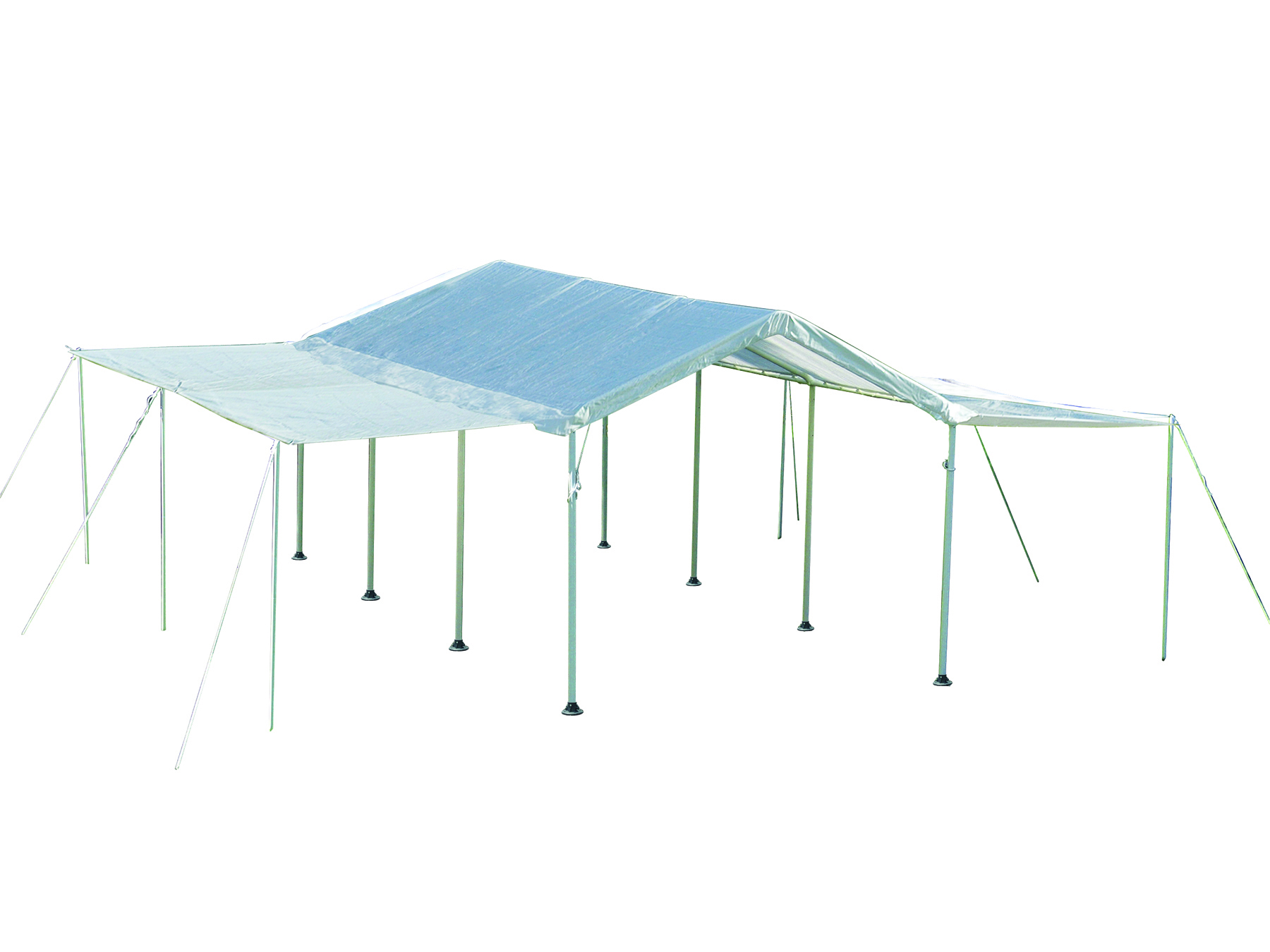 Max AP 10 ft. x 20 ft. White Canopy Extension Kit - Frame and Canopy Sold Separately