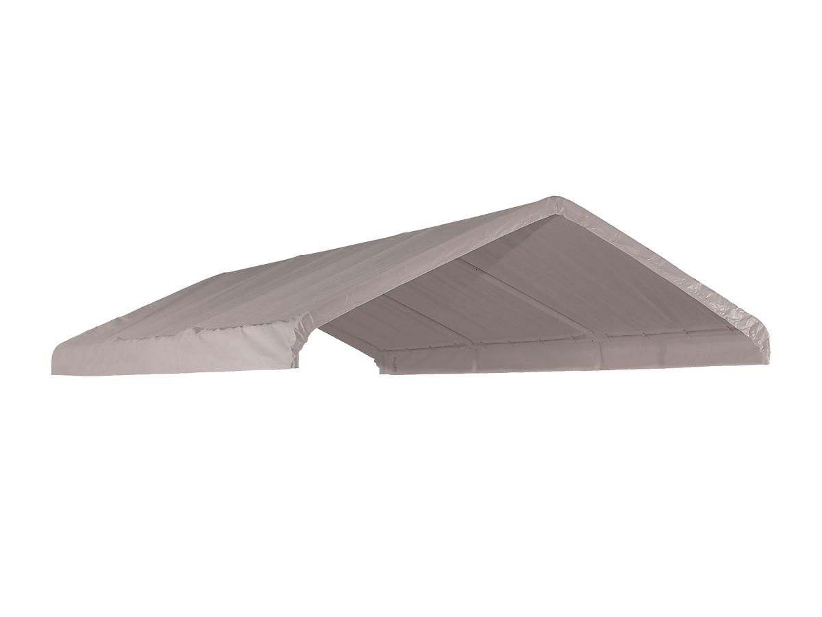 "Canopy Replacement Cover, 10'x20', White, Fits 1-3/8"" Frame"