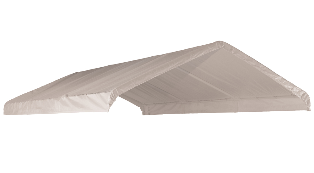 "Canopy Replacement Cover, 12'x20', White, Fits 2"" Frame"
