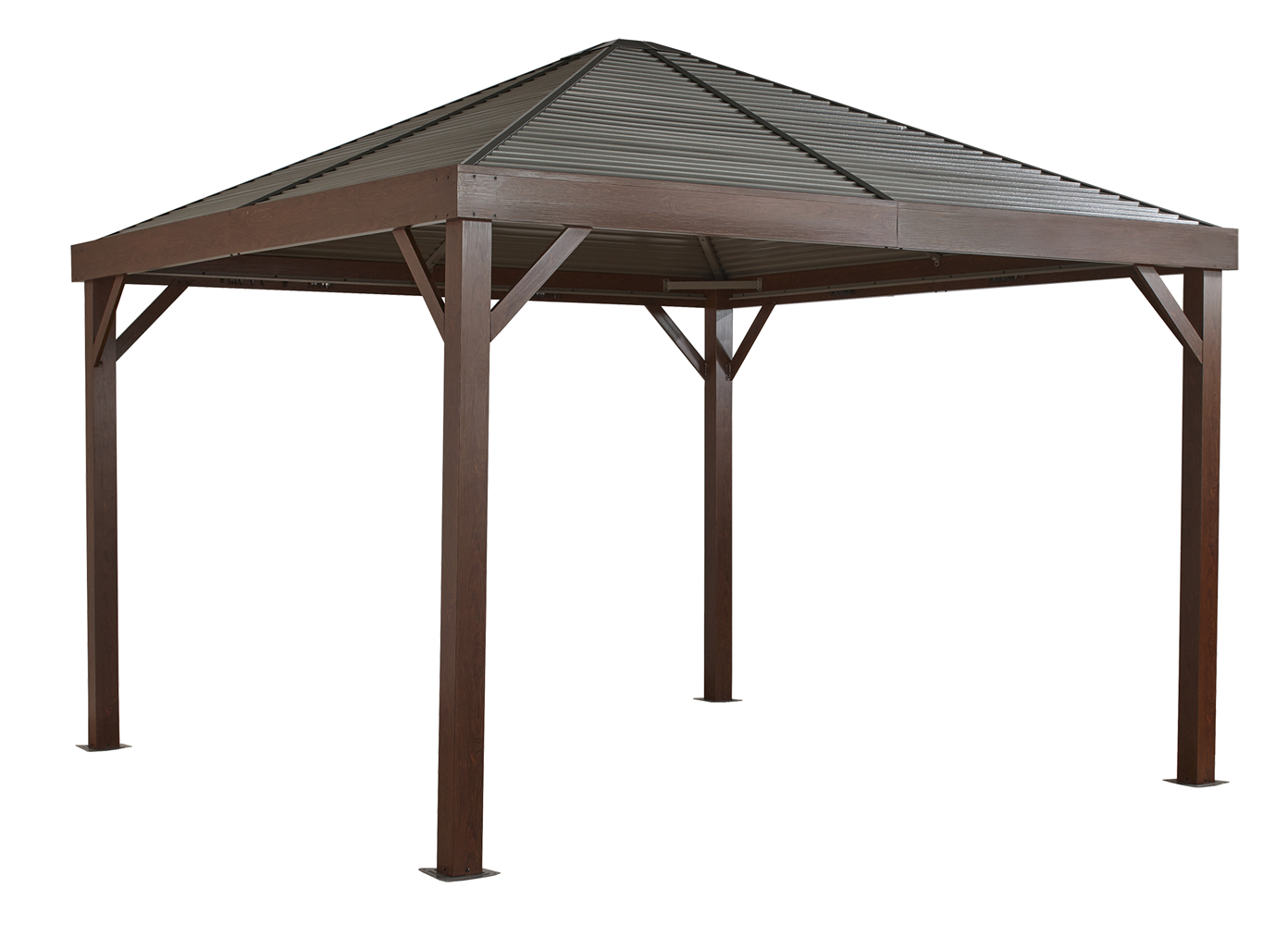 Gazebo Wood Finish 12 x 12 ft.