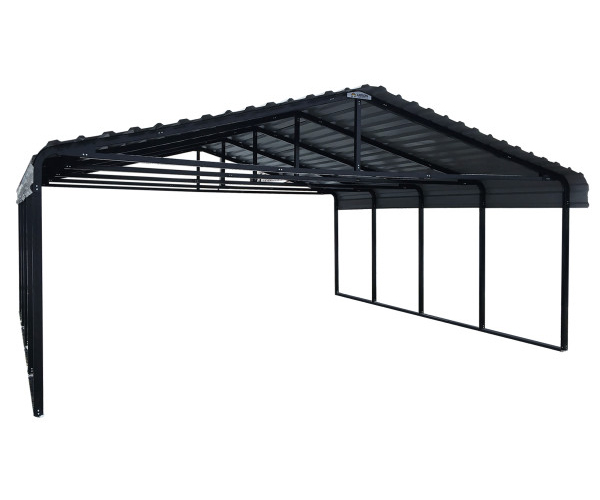 Arrow Carport 20 x 29 - Eggshel