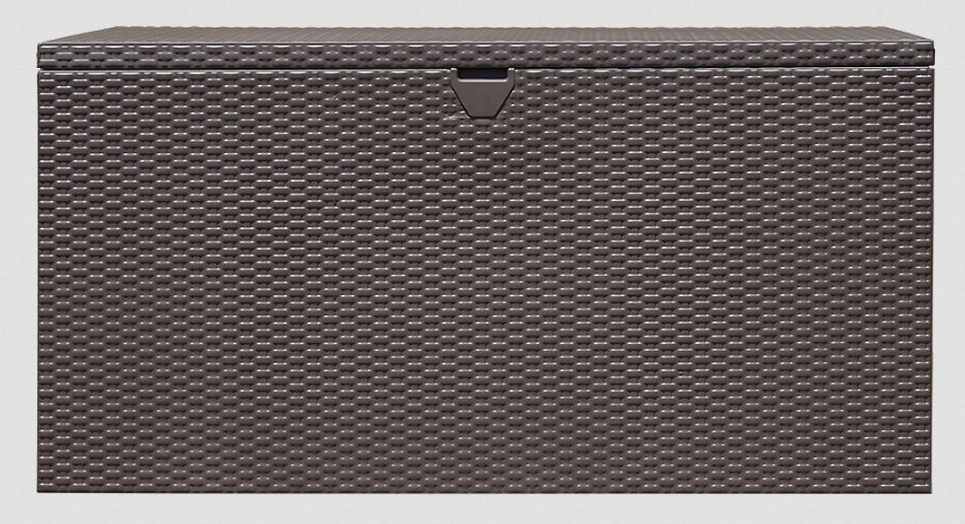 Spacemaker® Deck Box, Basket Weave, Anthracite