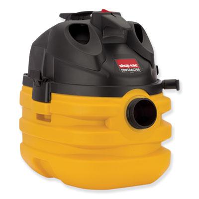 5 Gallon 6 Peak HP Portable Contractor Wet/Dry Vacuum