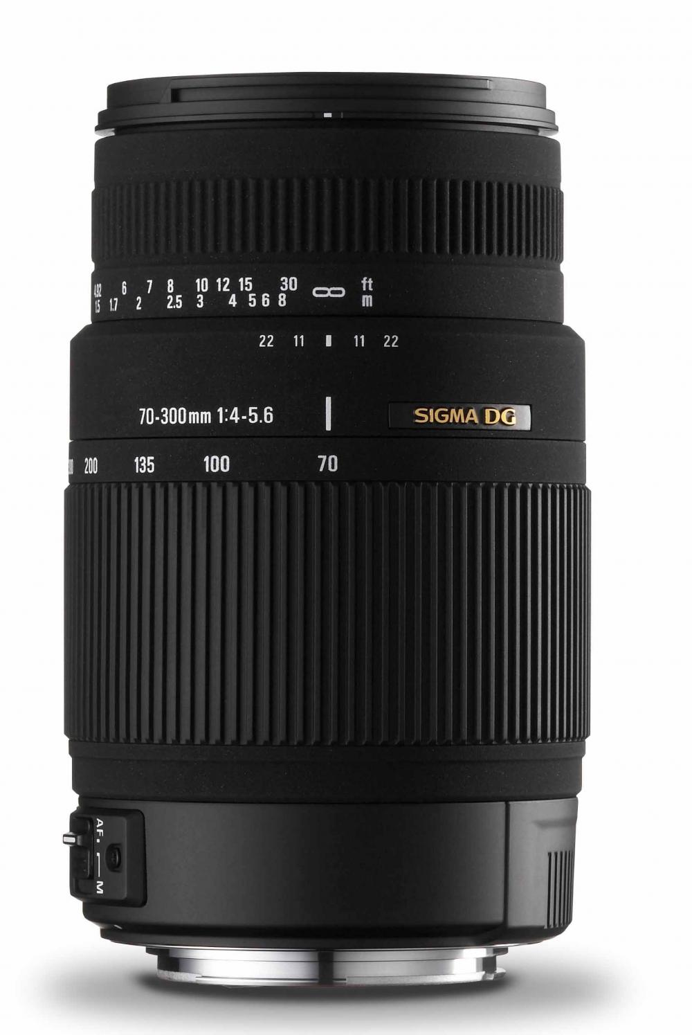 Sigma AF 70-300mm f/4-5.6 DG Macro Zoom Telephoto Autofocus Lens for Sony & Minolta