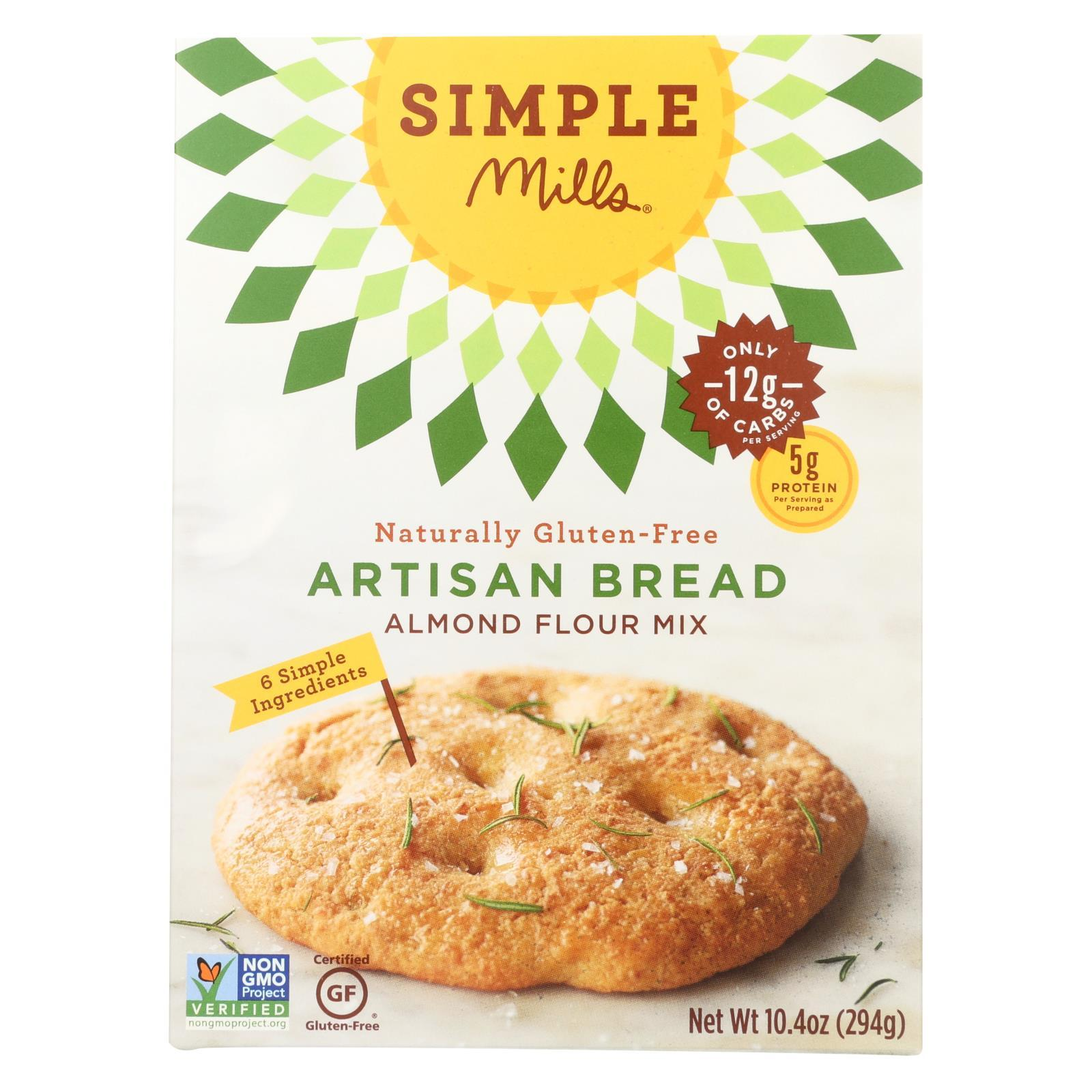 Almond Flour Artisan Bread Mix ( 6 - 10.4 OZ )