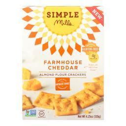 Farmhouse Cheddar Almond Flour Crackers ( 6 - 4.25 OZ )
