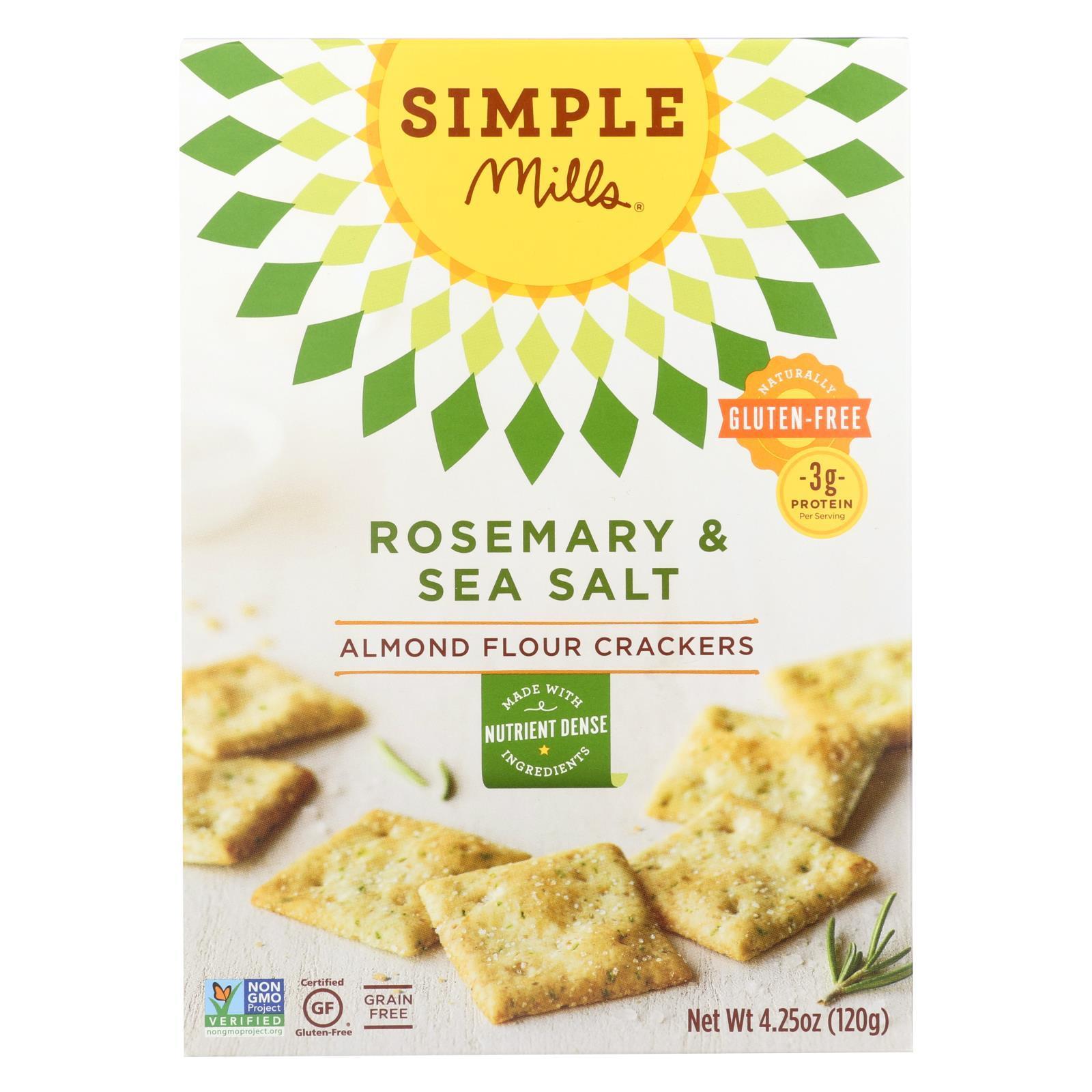 Rosemary And Sea Salt Almond Flour Crackers ( 6 - 4.25 OZ )