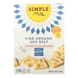 Fine Ground Sea Salt Almond Flour Crackers ( 6 - 4.25 OZ )