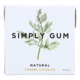 All Natural Gum - Fennel Licorice ( 12 - 15 CT )