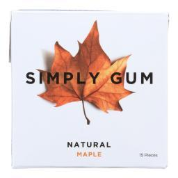 All Natural Gum - Maple ( 12 - 15 CT )