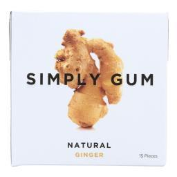 All Natural Gum - Ginger ( 12 - 15 CT )