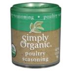 Simply Organic Mini Poultry Season Blend (6x.32 Oz)