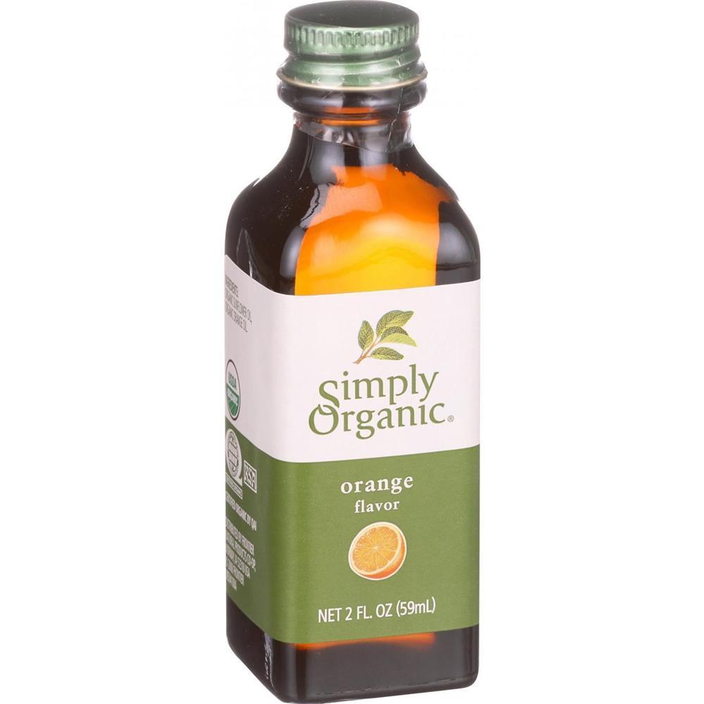 Simply Organic - Orange Flavor ( 6 - 2 OZ)