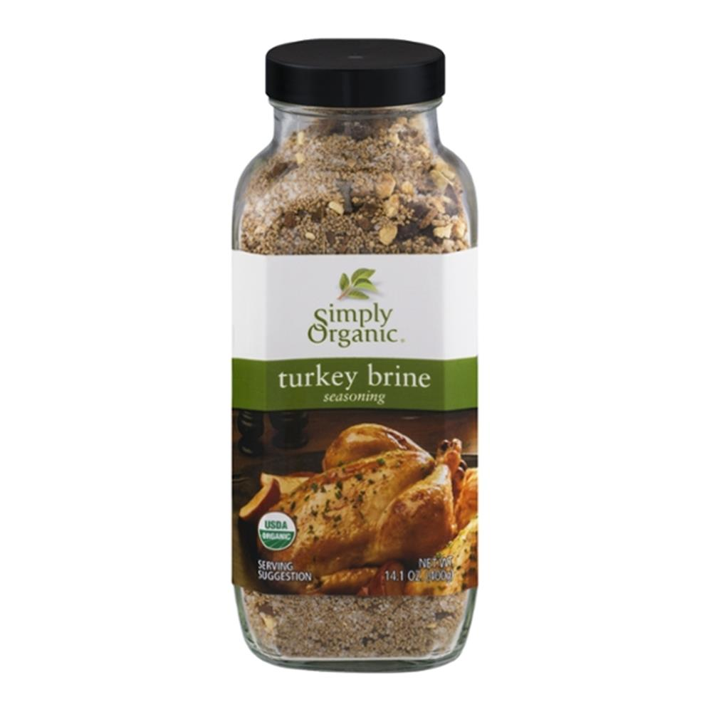 Simply Organic - Turkey Brine Seasoning ( 6 - 14.1 OZ)